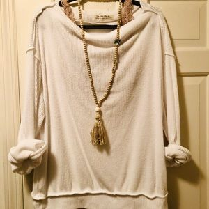 Free people off-the shoulder sweater
